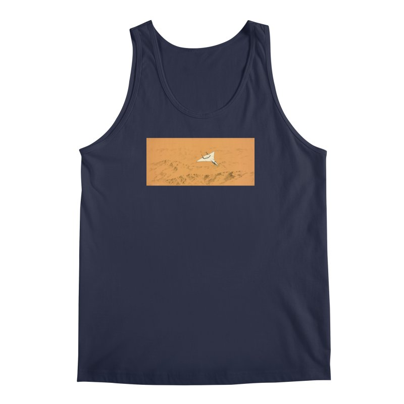 Concept Ship 7 Men's Tank by Colin Cantwell ll