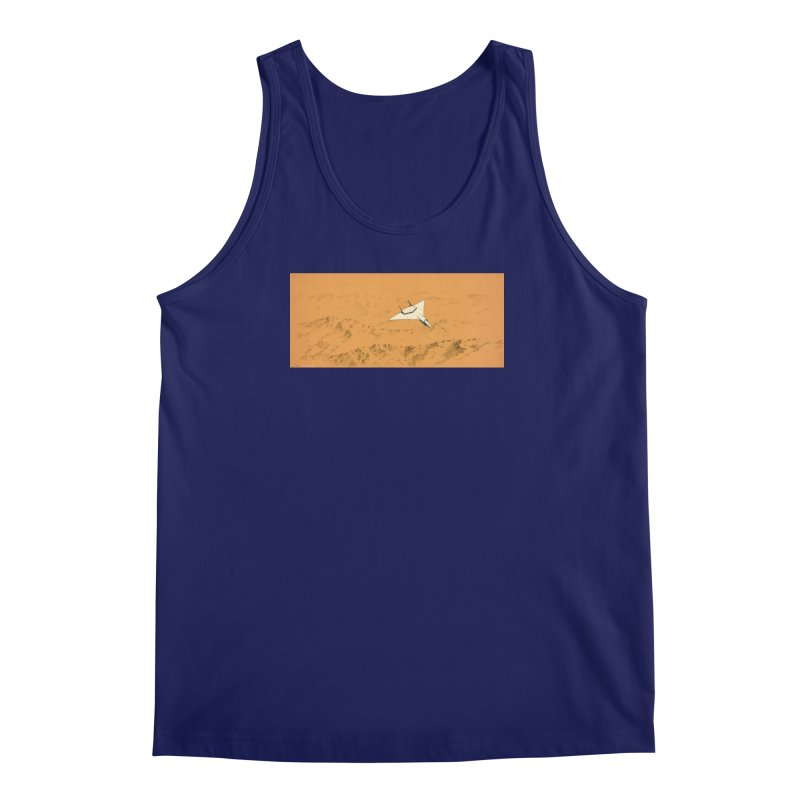 Concept Ship 7 Men's Regular Tank by Colin Cantwell ll