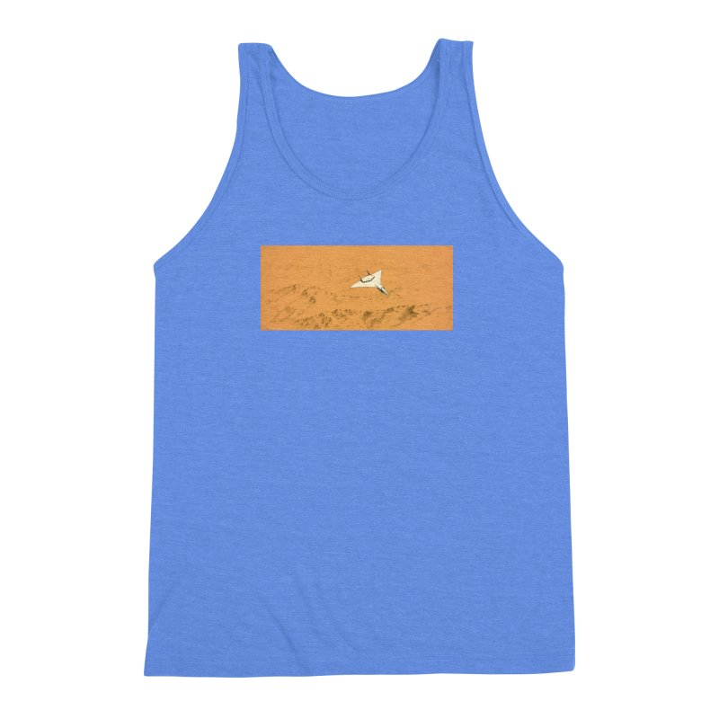 Concept Ship 7 Men's Triblend Tank by Colin Cantwell ll