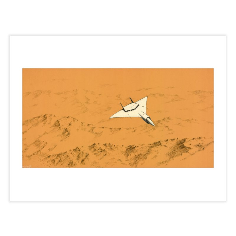 Concept Ship 7 Home Fine Art Print by Colin Cantwell ll