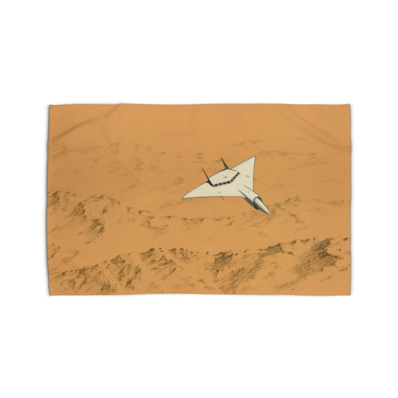 Concept Ship 7 Home Rug by Colin Cantwell ll