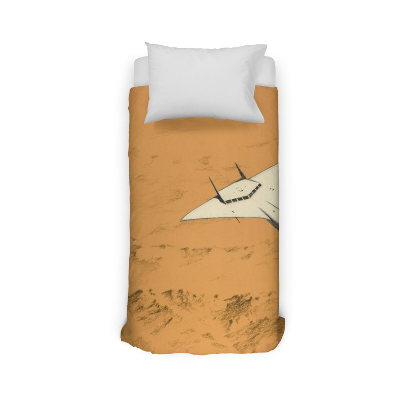 Concept Ship 7 Home Duvet by Colin Cantwell ll