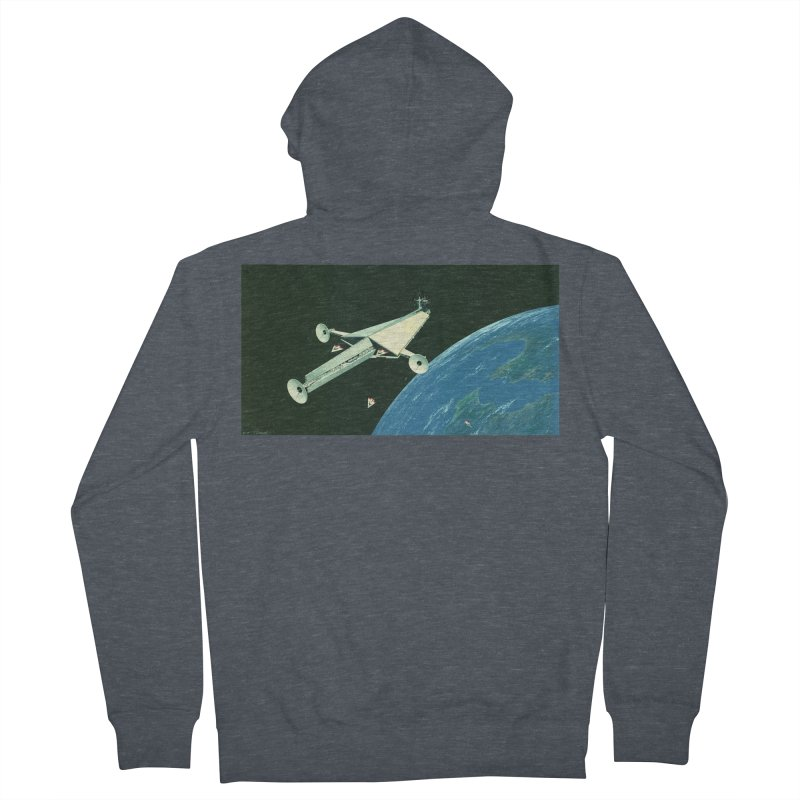 Concept Ship 6 Men's Zip-Up Hoody by Colin Cantwell ll