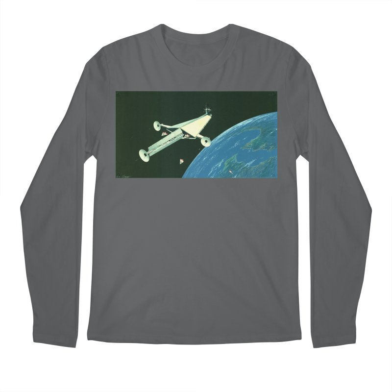 Concept Ship 6 Men's Longsleeve T-Shirt by Colin Cantwell ll