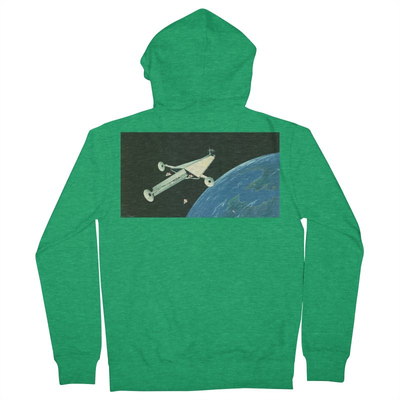 Concept Ship 6 Women's Zip-Up Hoody by Colin Cantwell ll