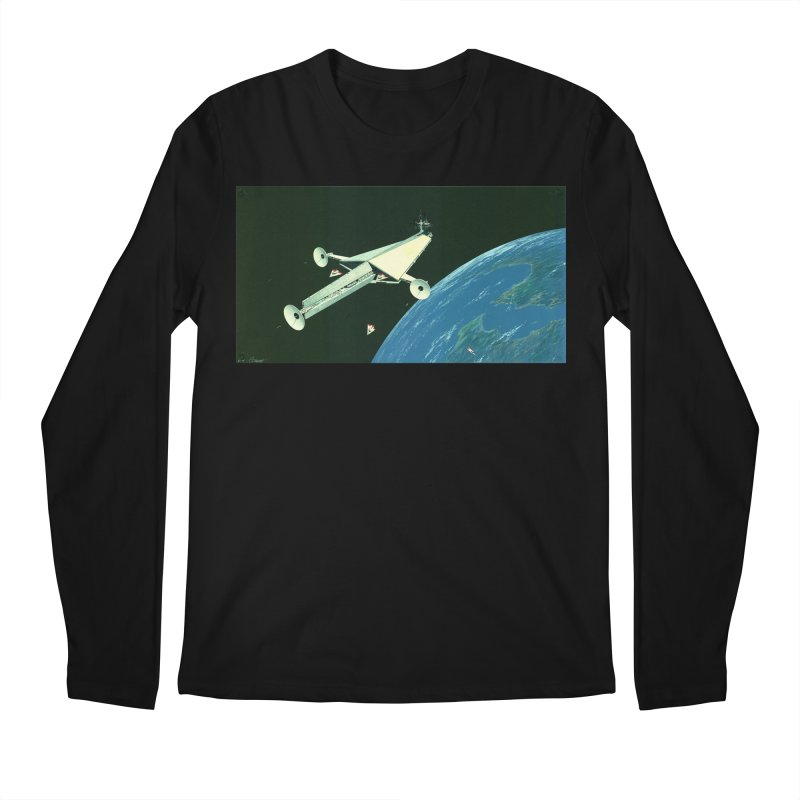 Concept Ship 6 Men's Regular Longsleeve T-Shirt by Colin Cantwell ll