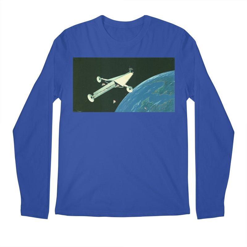 Concept Ship 6 Men's Regular Longsleeve T-Shirt by Colin Cantwell ll