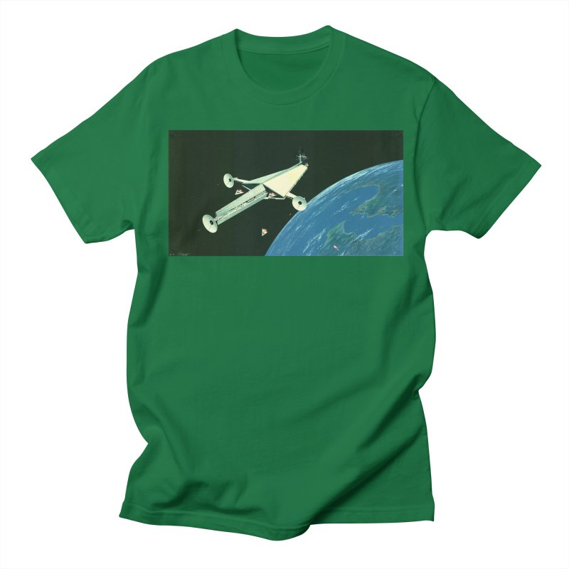 Concept Ship 6 Men's Regular T-Shirt by Colin Cantwell ll
