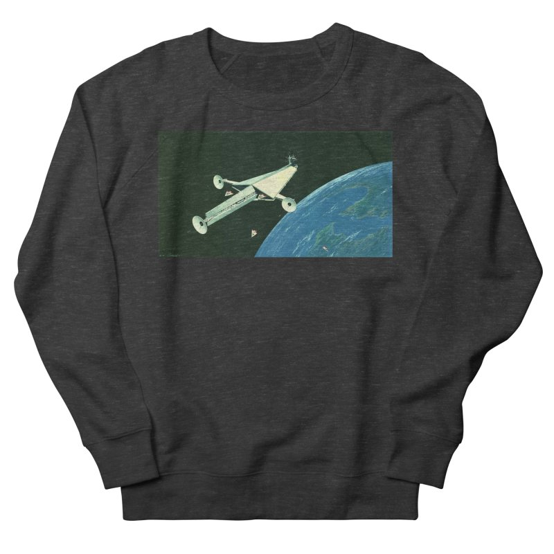 Concept Ship 6 Women's French Terry Sweatshirt by Colin Cantwell ll