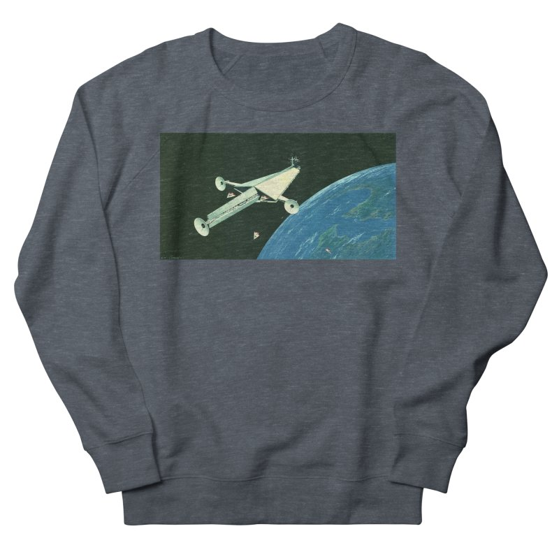 Concept Ship 6 Men's French Terry Sweatshirt by Colin Cantwell ll