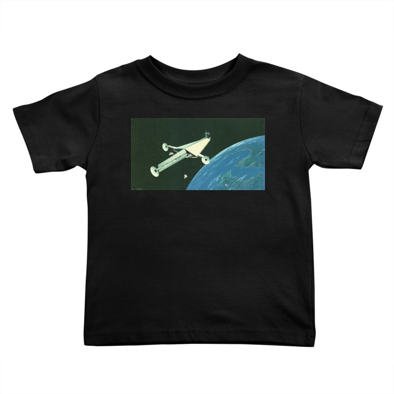 Concept Ship 6 Kids Toddler T-Shirt by Colin Cantwell ll