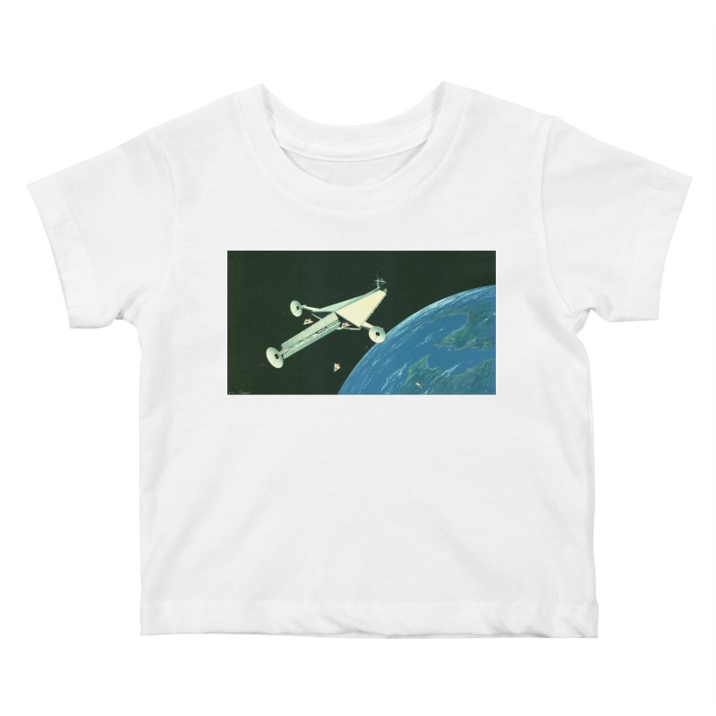Concept Ship 6 Kids Baby T-Shirt by Colin Cantwell ll