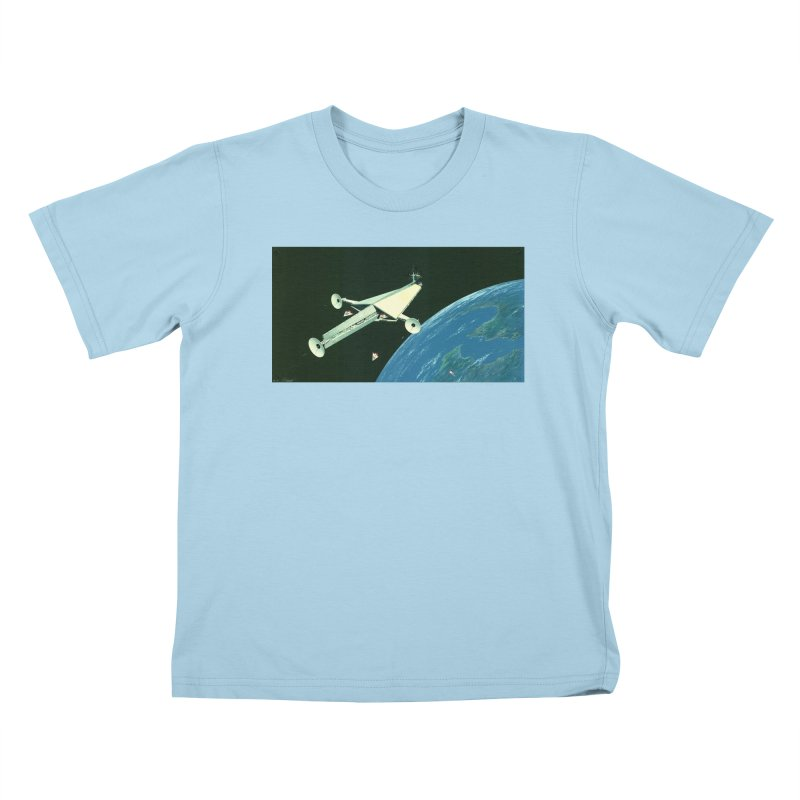 Concept Ship 6 Kids T-Shirt by Colin Cantwell ll