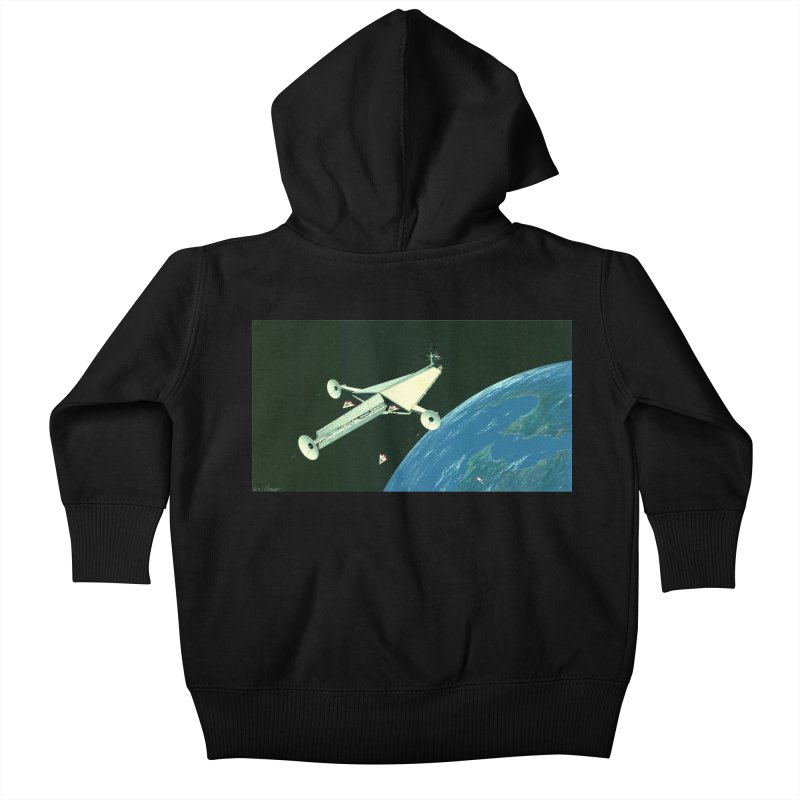 Concept Ship 6 Kids Baby Zip-Up Hoody by Colin Cantwell ll