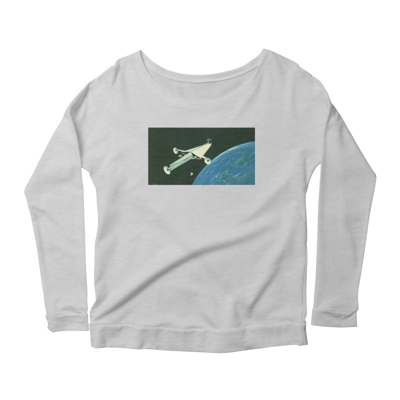 Concept Ship 6 Women's Longsleeve T-Shirt by Colin Cantwell ll