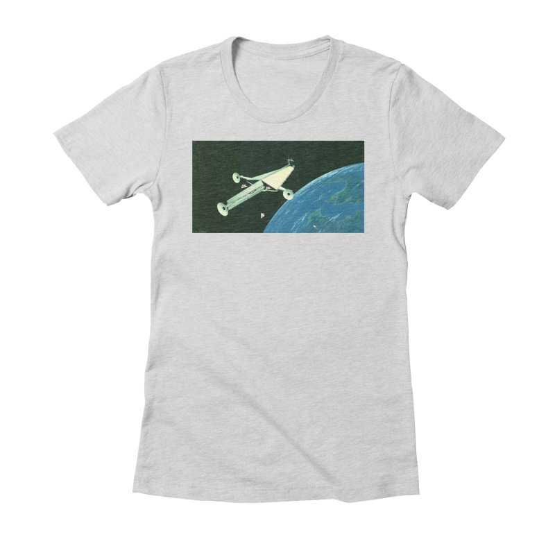 Concept Ship 6 Women's T-Shirt by Colin Cantwell ll