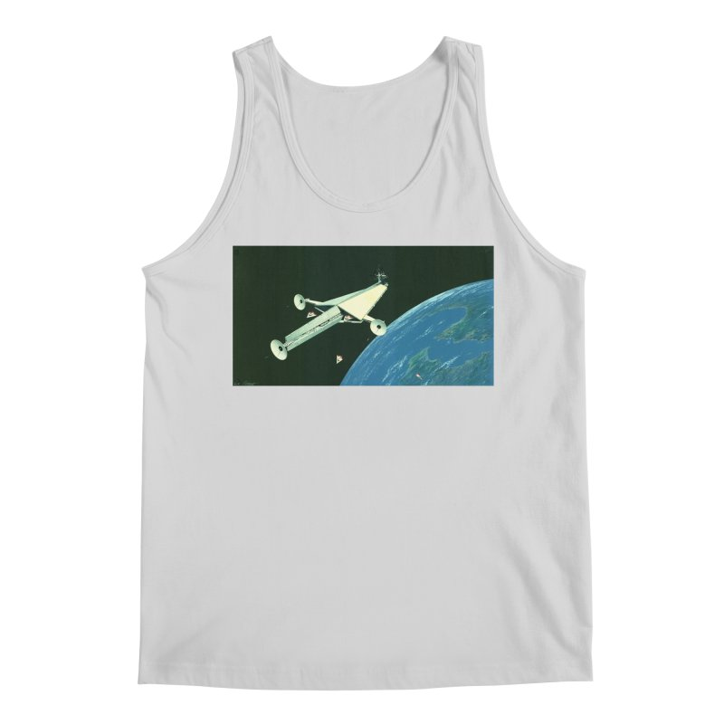 Concept Ship 6 Men's Tank by Colin Cantwell ll