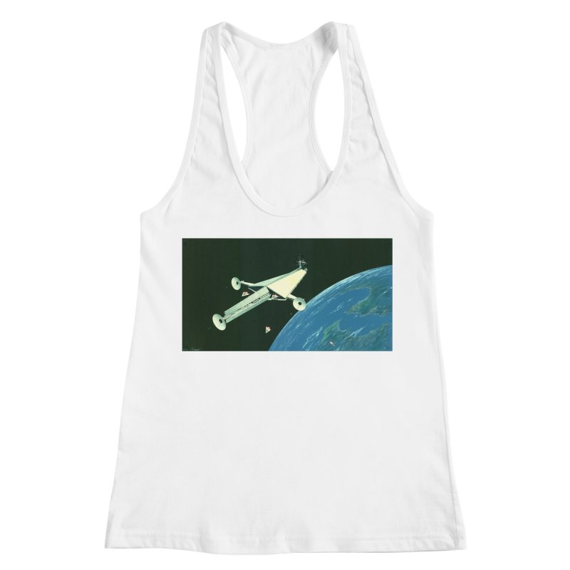 Concept Ship 6 Women's Tank by Colin Cantwell ll