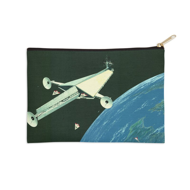 Concept Ship 6 Accessories Zip Pouch by Colin Cantwell ll