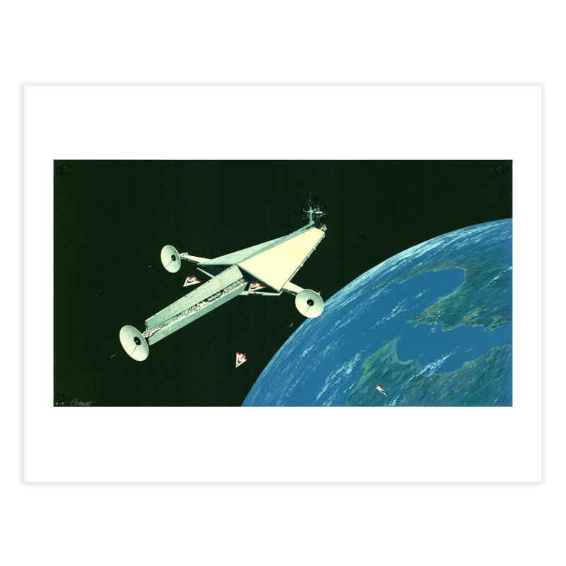 Concept Ship 6 Home Fine Art Print by Colin Cantwell ll
