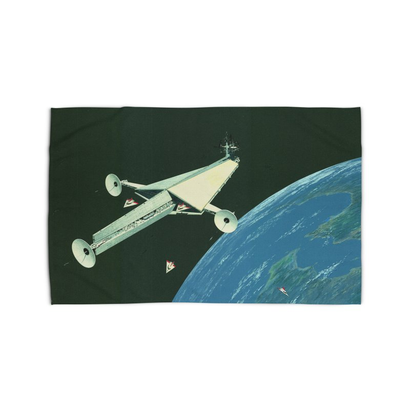 Concept Ship 6 Home Rug by Colin Cantwell ll