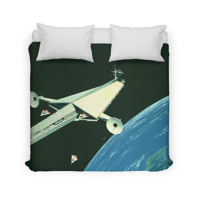 Concept Ship 6 Home Duvet by Colin Cantwell ll