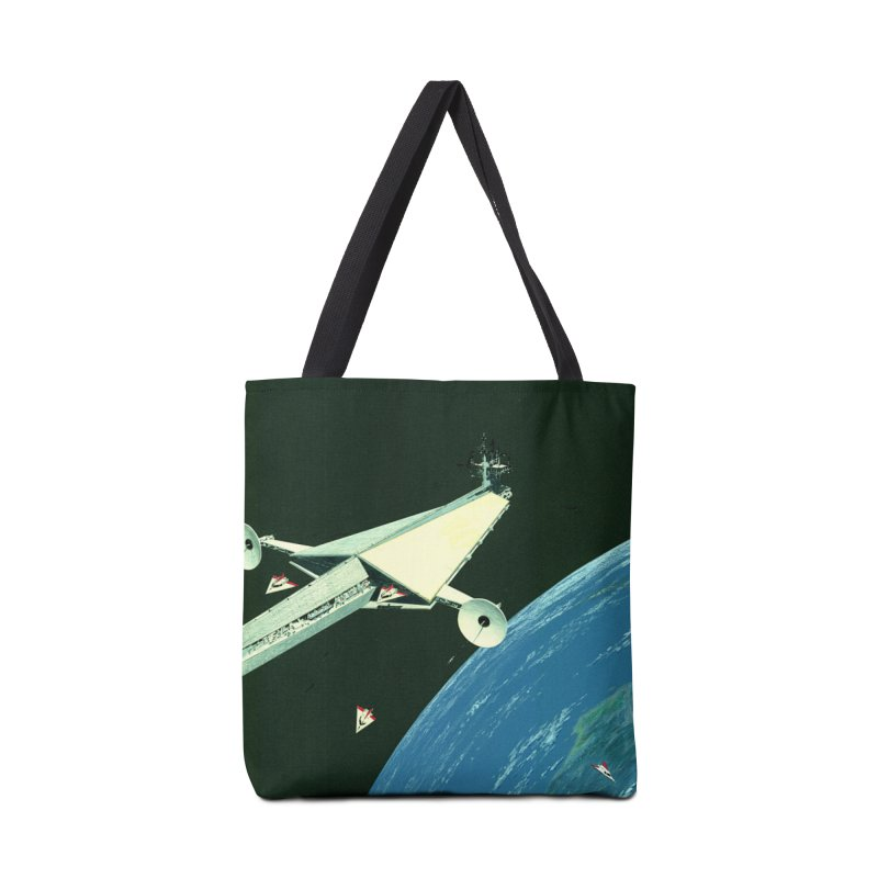 Concept Ship 6 Accessories Tote Bag Bag by Colin Cantwell ll