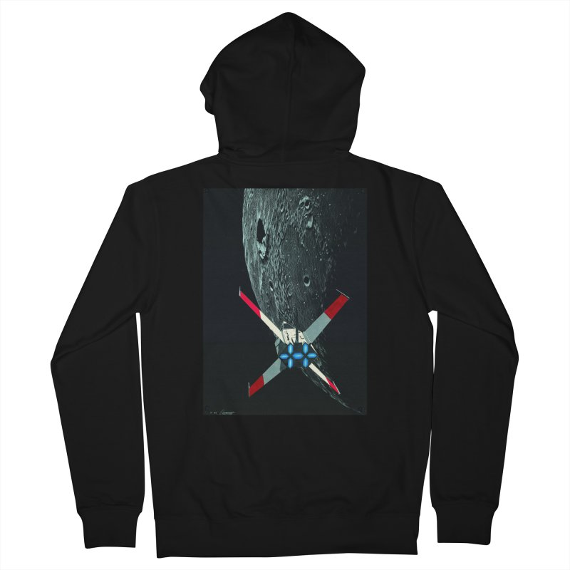 Concept Ship 4 Women's Zip-Up Hoody by Colin Cantwell ll