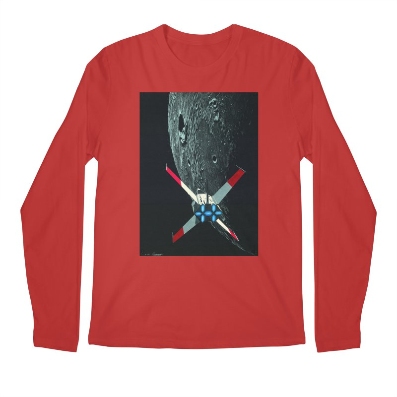 Concept Ship 4 Men's Longsleeve T-Shirt by Colin Cantwell ll