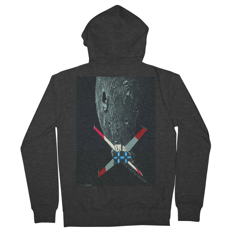Concept Ship 4 Women's French Terry Zip-Up Hoody by Colin Cantwell ll