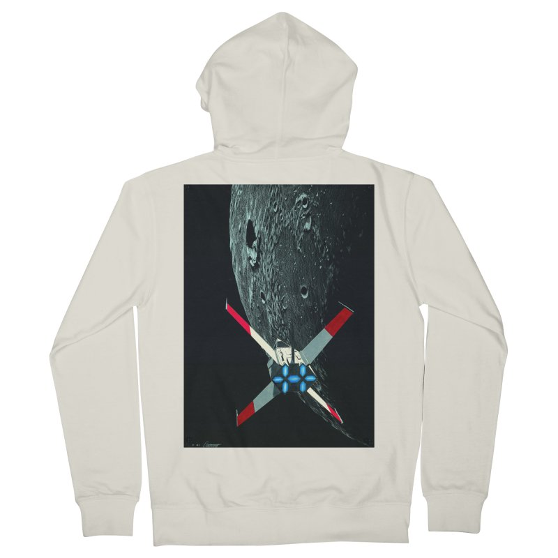 Concept Ship 4 Men's Zip-Up Hoody by Colin Cantwell ll