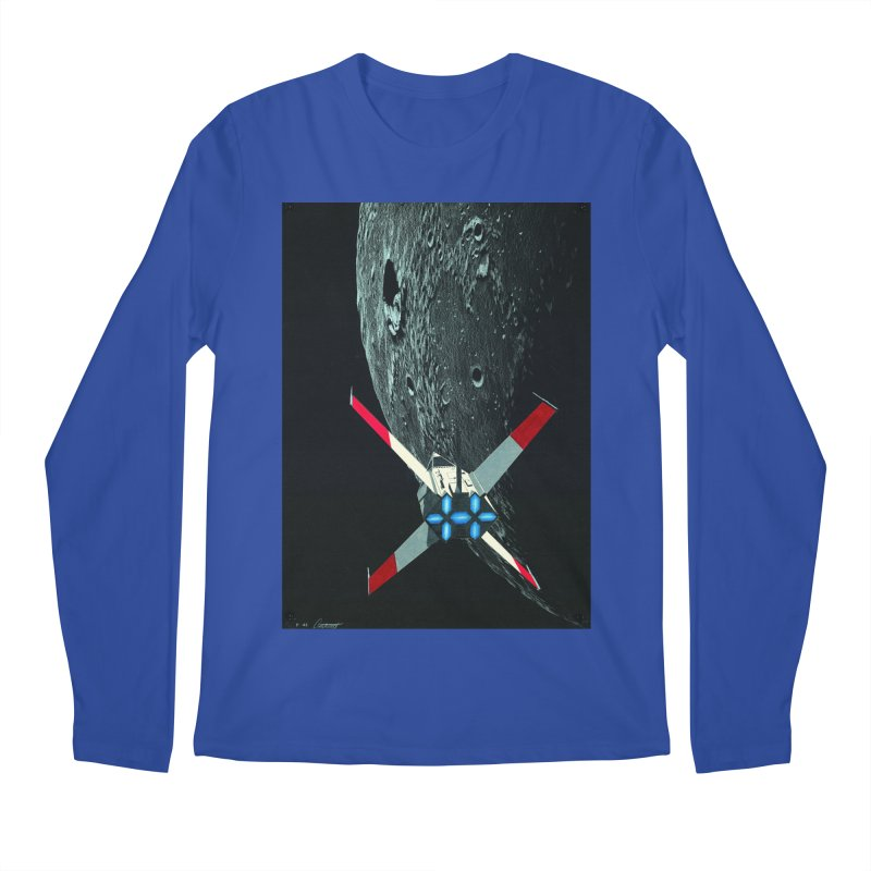 Concept Ship 4 Men's Regular Longsleeve T-Shirt by Colin Cantwell ll