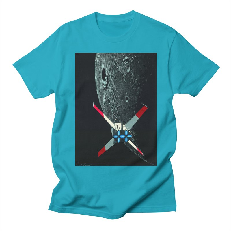 Concept Ship 4 Men's T-Shirt by Colin Cantwell ll