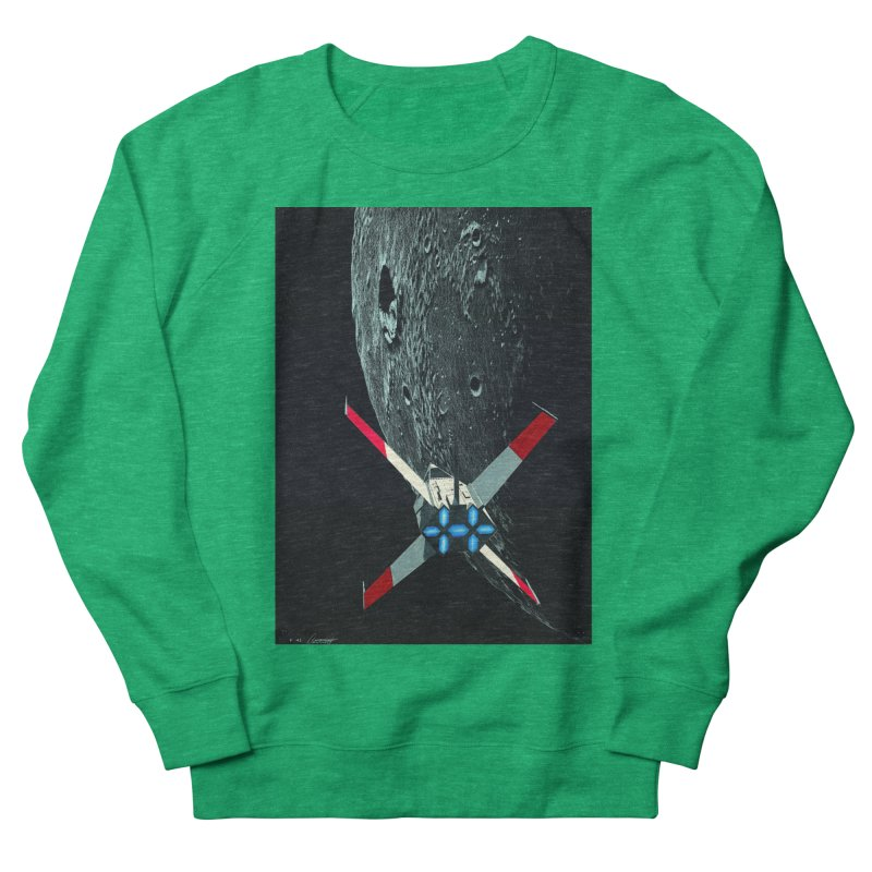 Concept Ship 4 Women's Sweatshirt by Colin Cantwell ll
