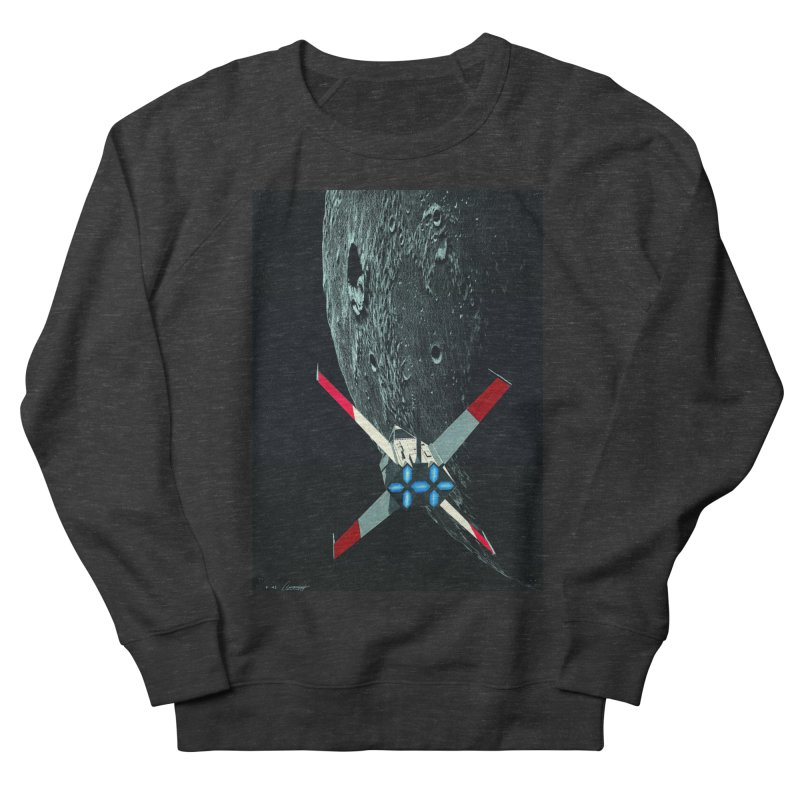 Concept Ship 4 Women's French Terry Sweatshirt by Colin Cantwell ll