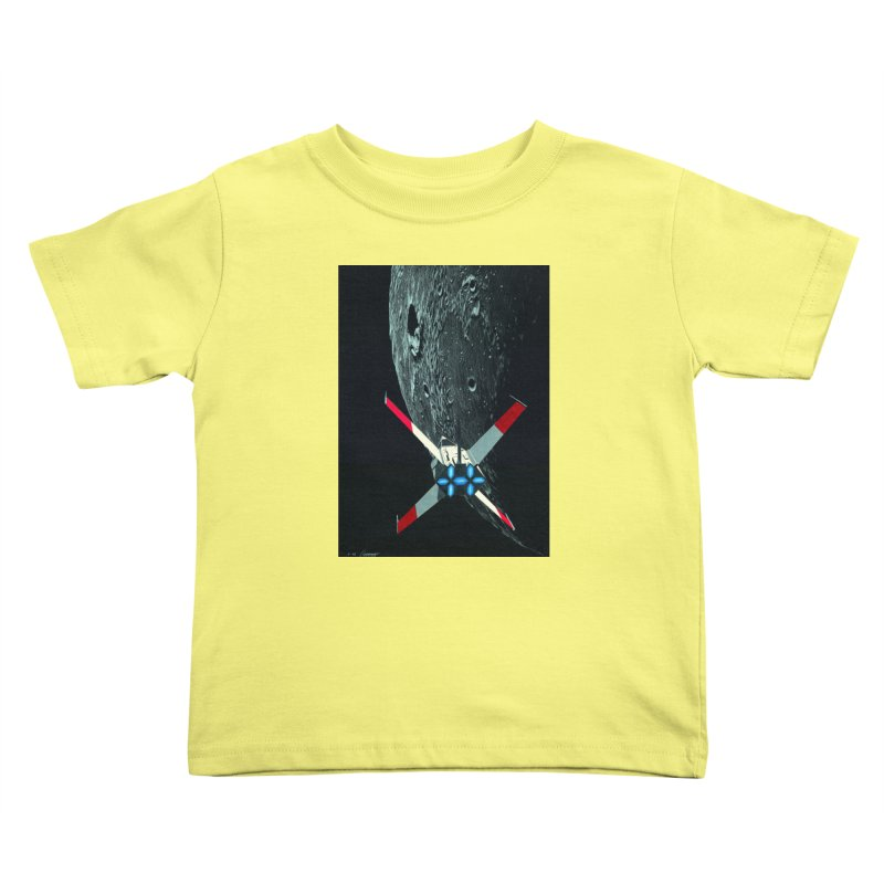 Concept Ship 4 Kids Toddler T-Shirt by Colin Cantwell ll