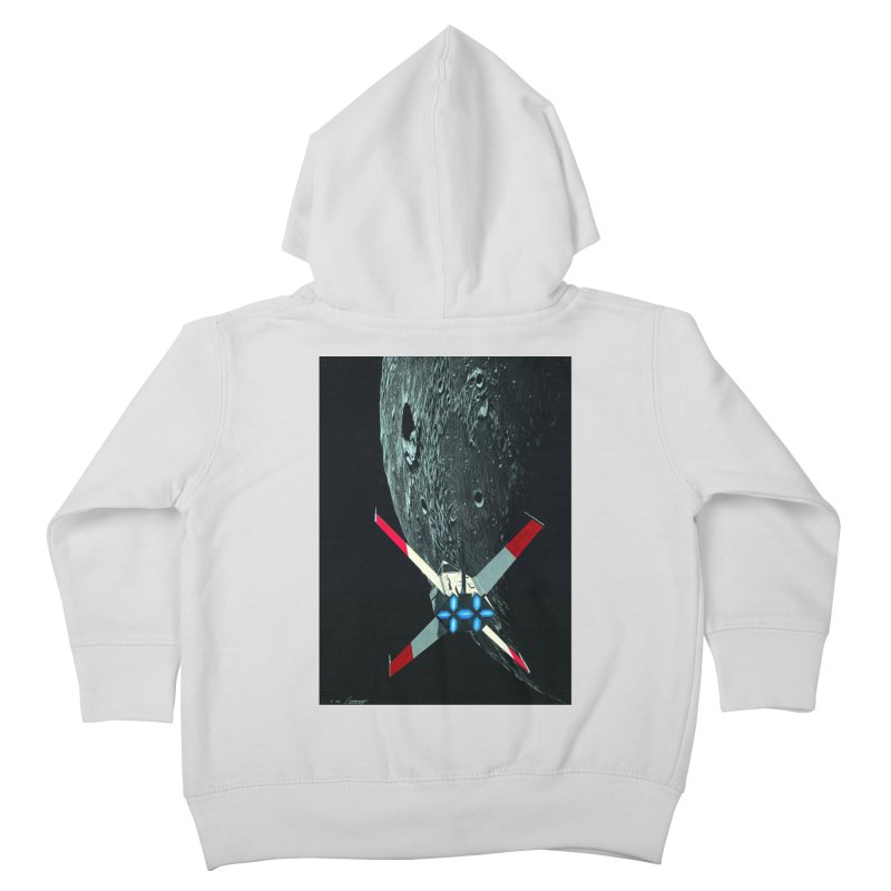 Concept Ship 4 Kids Toddler Zip-Up Hoody by Colin Cantwell ll