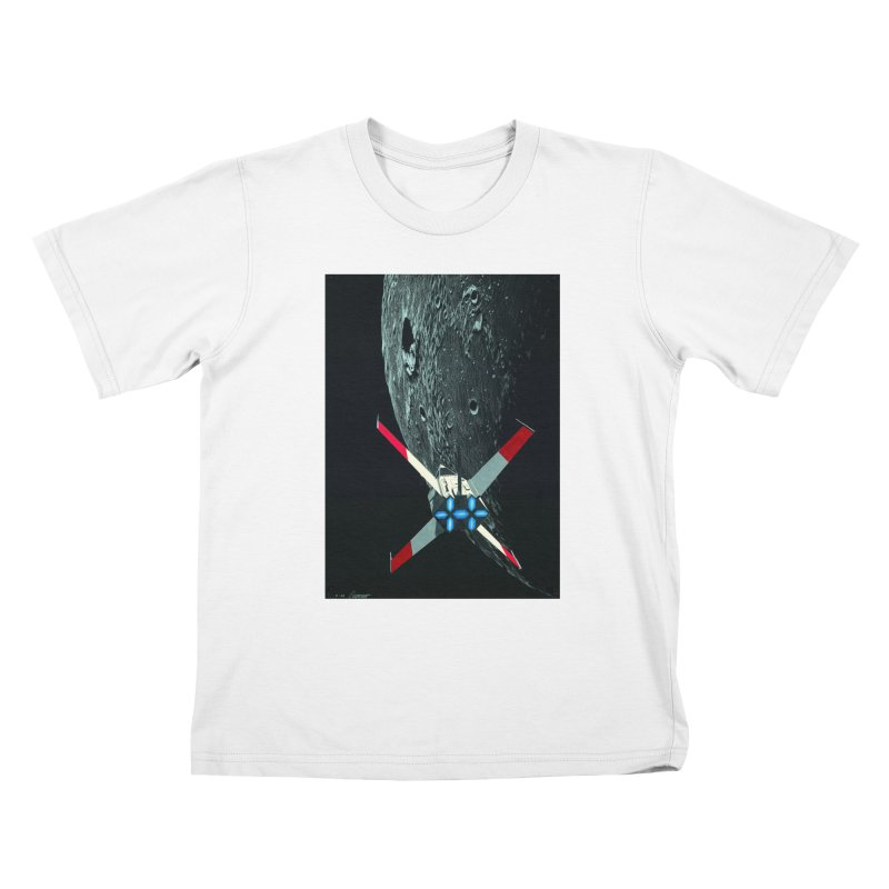 Concept Ship 4 Kids T-Shirt by Colin Cantwell ll
