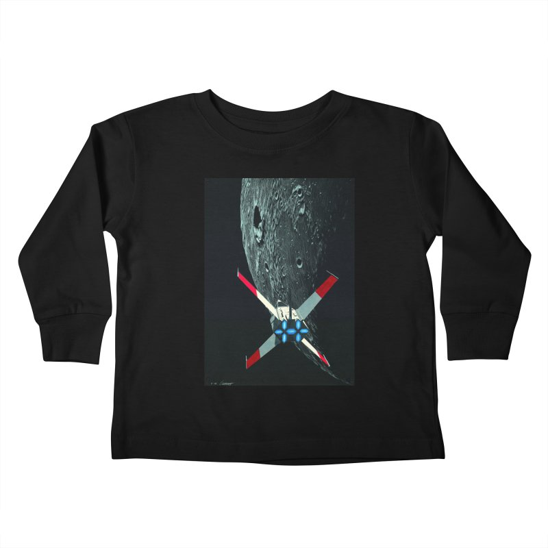 Concept Ship 4 Kids Toddler Longsleeve T-Shirt by Colin Cantwell ll