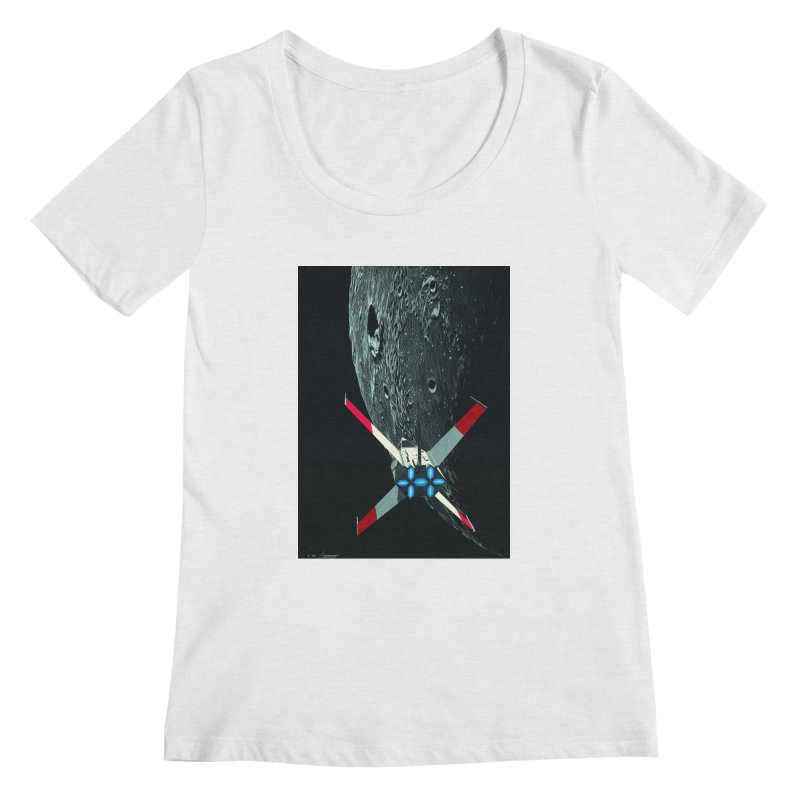 Concept Ship 4 Women's Scoop Neck by Colin Cantwell ll