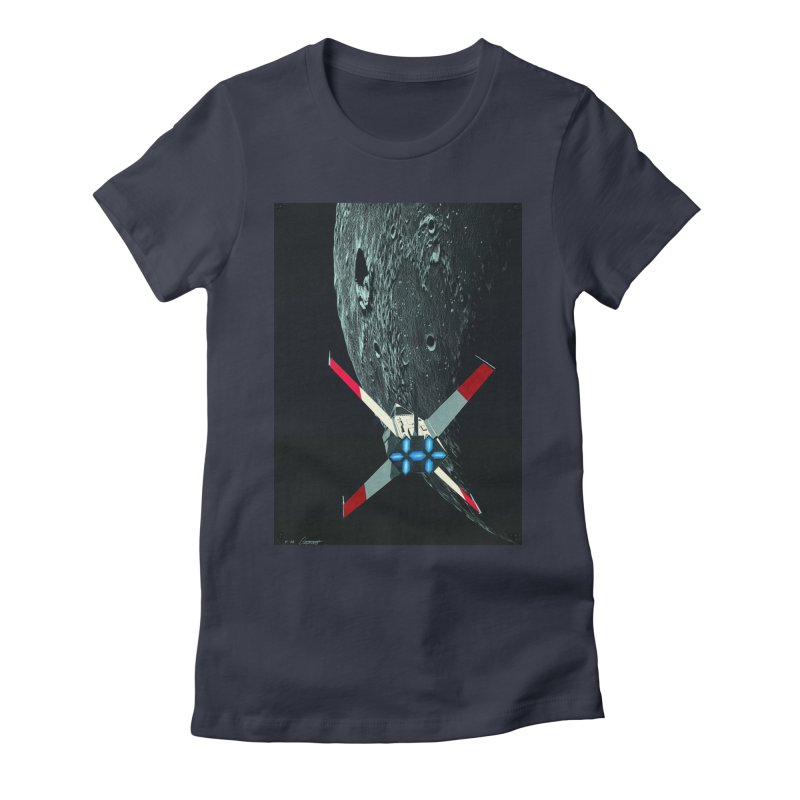 Concept Ship 4 Women's T-Shirt by Colin Cantwell ll