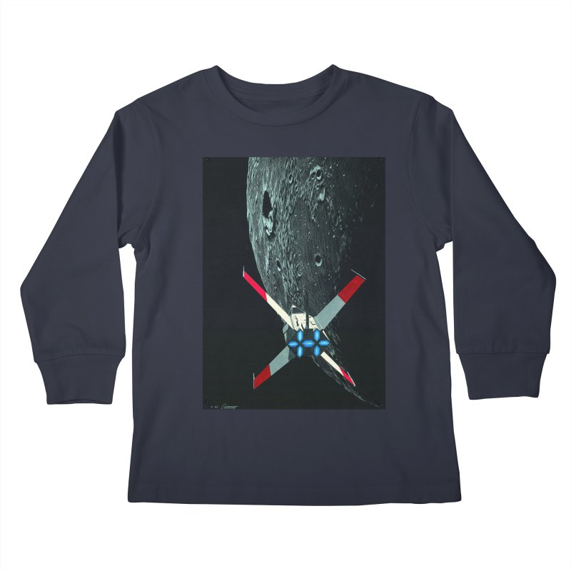 Concept Ship 4 Kids Longsleeve T-Shirt by Colin Cantwell ll