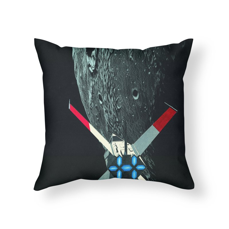 Concept Ship 4 Home Throw Pillow by Colin Cantwell ll
