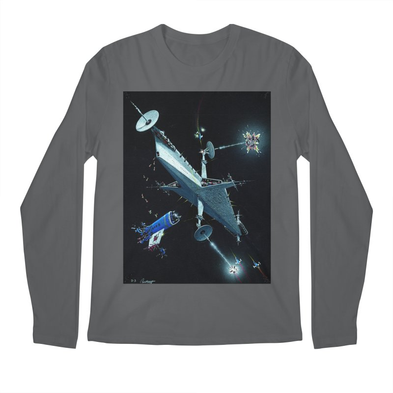 Concept Ship 3 Men's Longsleeve T-Shirt by Colin Cantwell ll