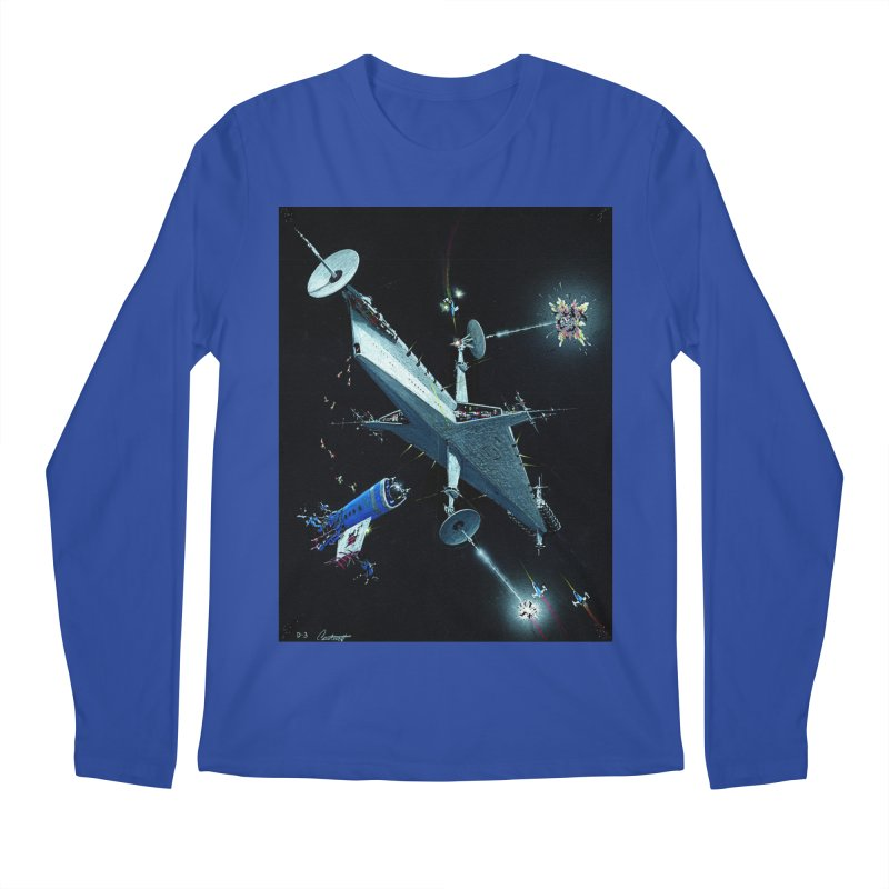 Concept Ship 3 Men's Regular Longsleeve T-Shirt by Colin Cantwell ll
