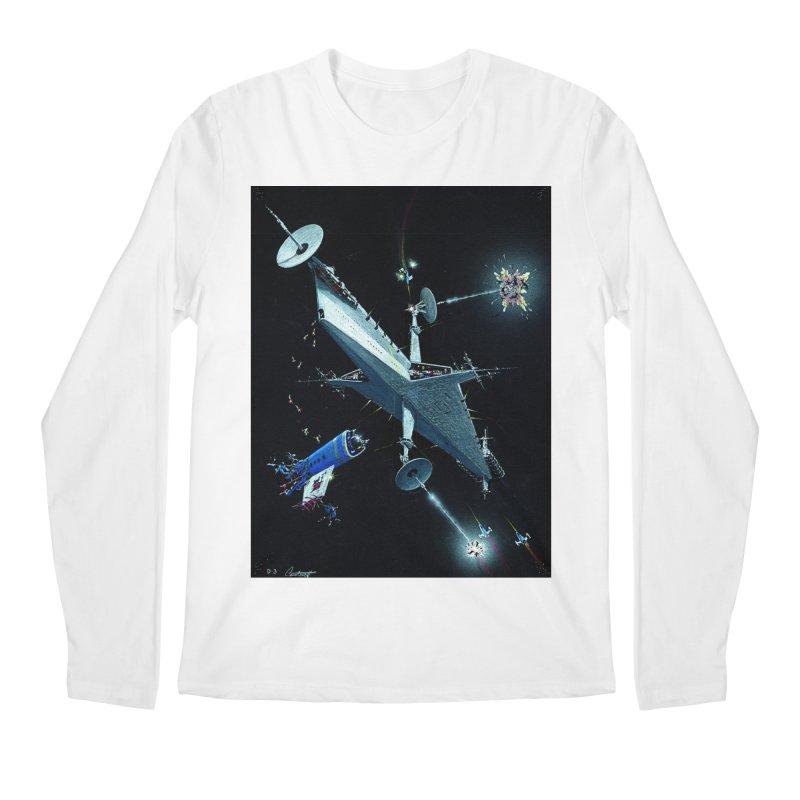 Concept Ship 3 Men's Regular Longsleeve T-Shirt by Colin Cantwell ll
