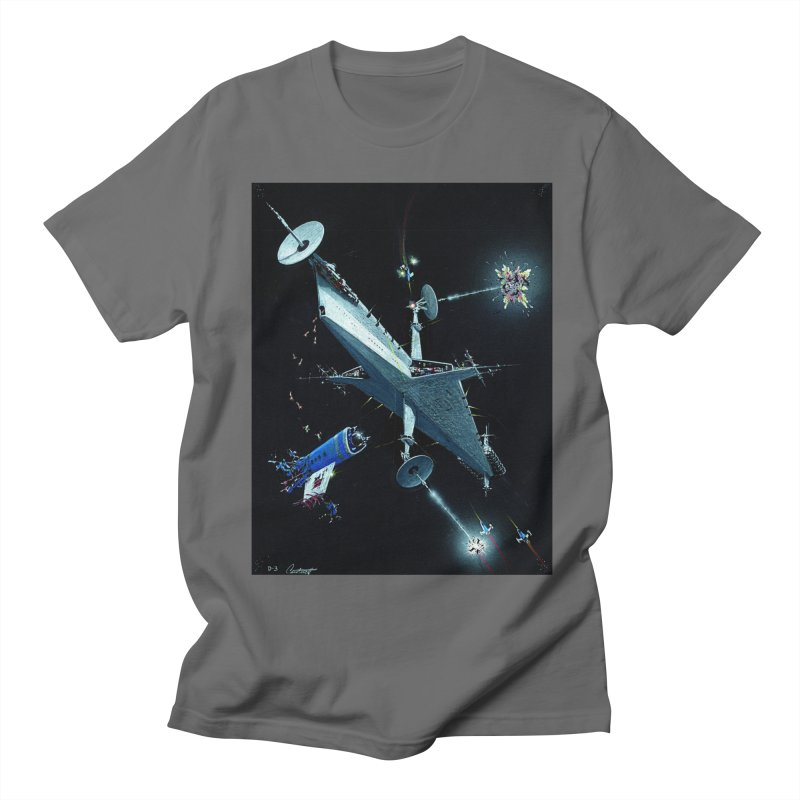 Concept Ship 3 Men's T-Shirt by Colin Cantwell ll