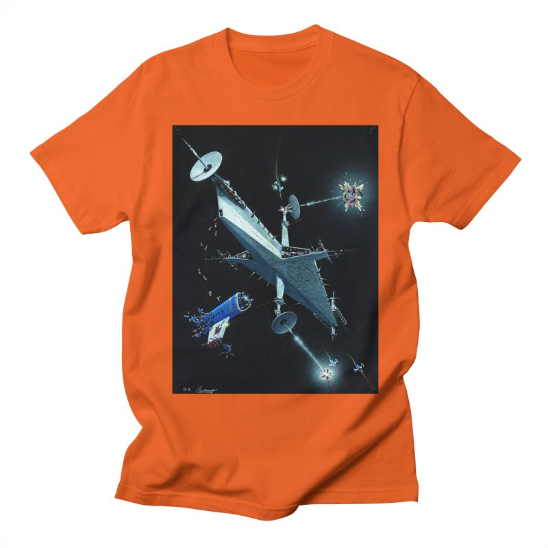 Concept Ship 3 Men's Regular T-Shirt by Colin Cantwell ll