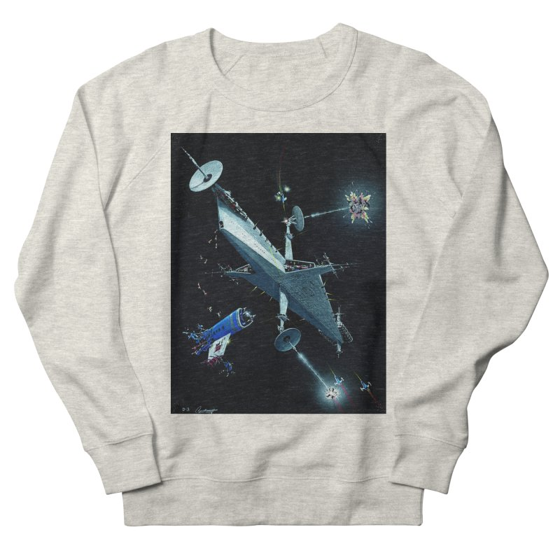 Concept Ship 3 Women's French Terry Sweatshirt by Colin Cantwell ll