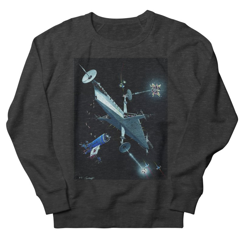 Concept Ship 3 Men's Sweatshirt by Colin Cantwell ll